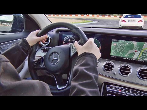 2017 Mercedes E-Class - Intelligent Drive demo