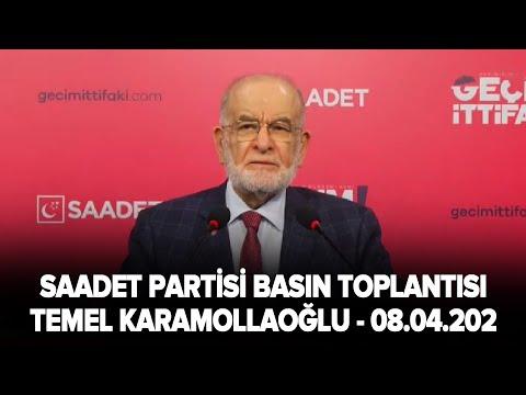 Temel Karamollaoğlu, Saadet Partisi Sakarya 7. Olağan İl Kongresi'nde konuşuyor