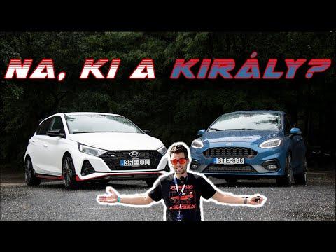 Ford vs. Hyundai: ki a gyorsabb? – i20N a Fiesta ST ellen, keményen hajtva