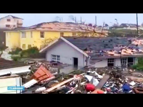 Wanhoop op de Bahama's door verwoestende orkaan Dorian - RTL NIEUWS