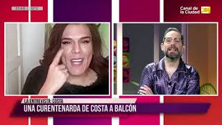 La cuarentena de los famosos: Entrevista a la Costi en Para Alquilar Balcones