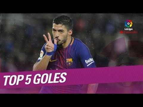 TOP 5 Goles Jornada 19 LaLiga Santander 2017/2018
