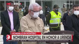 Costas destacó la labor de Óscar Urenda y Roberto Tórrez por la salud en Santa Cruz