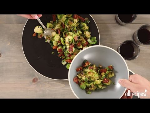 Veggie Recipes - How to Make Fried Brussels Sprouts
