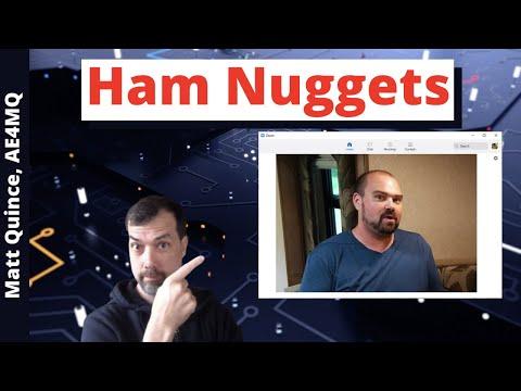 #82 Ham Nuggets Live! With Matt Quince, AE4MQ
