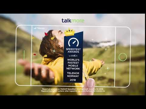 Talkmore - full Telenor-dekning