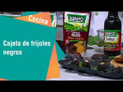 Receta de Secretos de Cocina de Unilever: Cajeta de Frijoles Negros