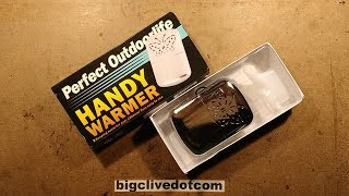 Fixing my oil burner and a look at another eBay hand warmer.