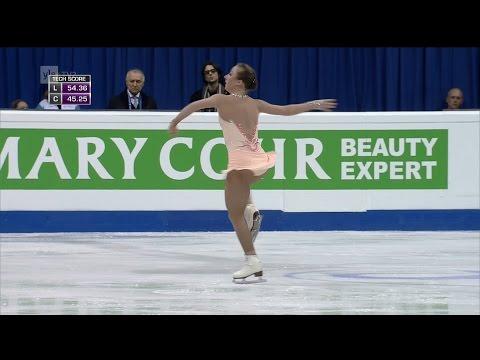 Nathalie Weinzierl - Free Skating - 2016 European Figure Skating Championships