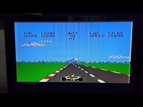 Atari 7800 - Pole Position II