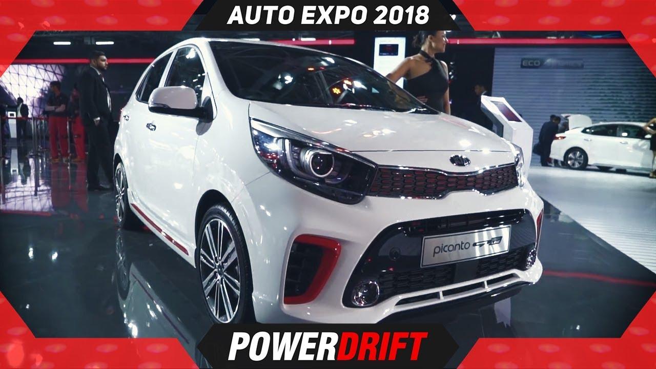 2018 Kia Picanto @ Auto Expo : PowerDrift