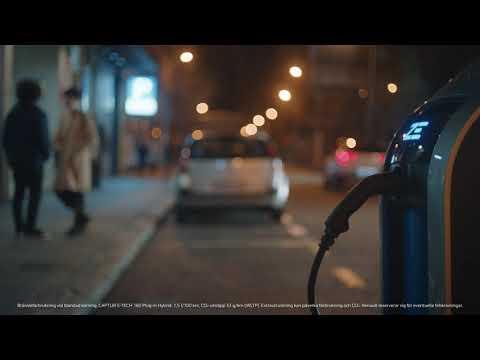 Renault CAPTUR Plug-in hybrid - Den uppkopplade bilen