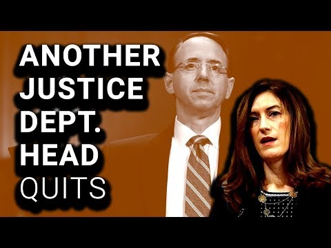 Another One Gone: Justice Dept #3 Quits