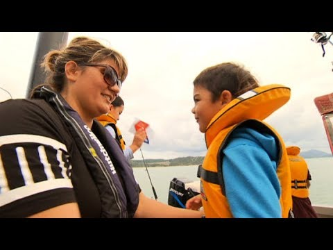 Meet the Kiwi family who nearly drowned, and who are now sharing the water safety message