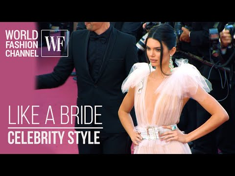 Like a Bride | Celebrity Style