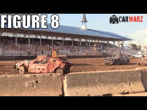 Figure 8 Class 2 Demolition Derby At Unique Motorsports In Ionia Michigan 2018