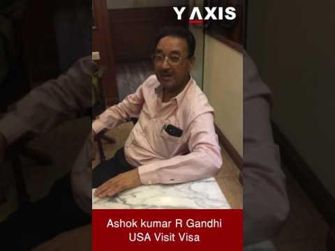 Ashok kumar R Gandhi USA Visit visa PC Haritha Asha