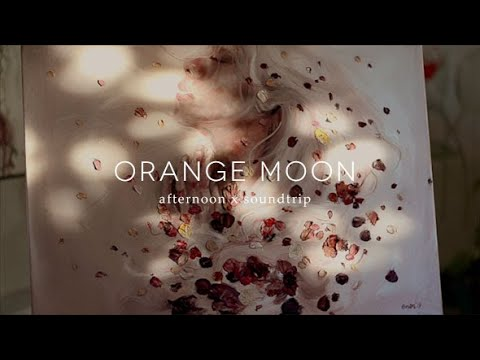 An Afternoon With Me ft Orange Moon Oil Painting and Badu