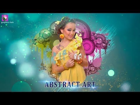 Abstract Art Photo Effect In Photoshop - Photoshop Tutorial