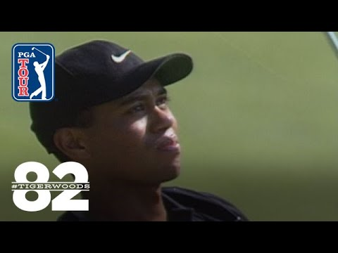 Tiger Woods wins 1999 Motorola Western Open Chasing 82