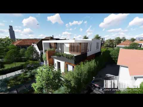 Project Hamel by Amit Apel Design Inc. // 3D Rendering Design for Real Estate Development
