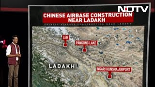 NDTV Exclusive: China Expands Airbase Near Ladakh, Fighter Jets On Tarmac - NDTV