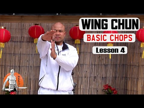 Basic Wing Chun Lesson  basic Chops lesson 4 | Master Wong