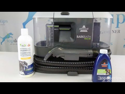Bissell BarkBath 2 in 1 Portable Dog Bath and Deep Cleaner Review