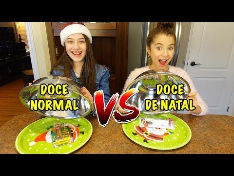 connectYoutube - DOCE NORMAL VS DOCE DE NATAL (FT. IVANA COELHO)