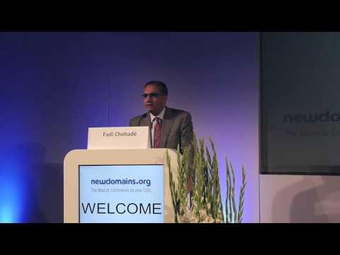 Keynote von Fadi Chehadé (ICANN-CEO und -Präsident) auf der newdomains 2013