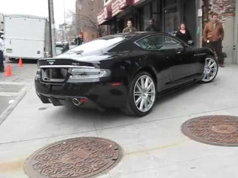 Aston Martin flagship DBS roars