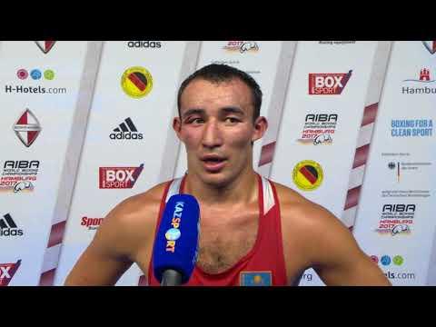 Интервью 2 ЧМ-2017 Альжанов 81 кг