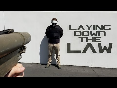 Laying down the LAW | Slow Motion Launcher! | AirsoftGI.COM