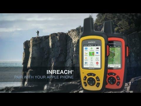 Garmin inReach: Pair with your Apple Phone