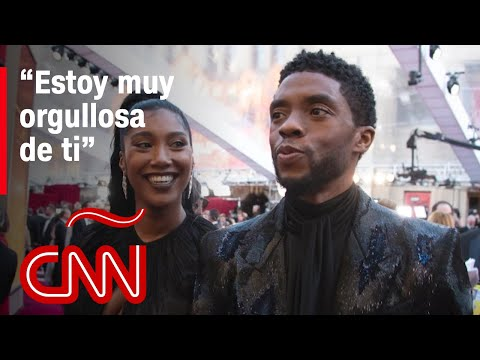 El emotivo discurso de la viuda de Chadwick Boseman