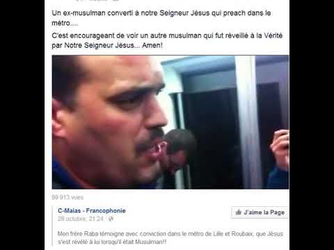 nouvel ordre mondial | Un ex musulman témoigne de Jésus-Christ dans le metro