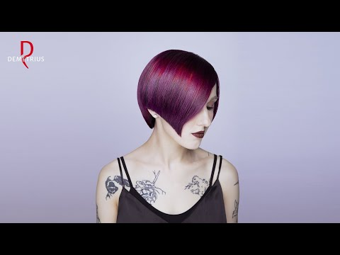 SASSOON DEMETRIUS | Стрижка Сессон на короткие волосы | Женские стрижки 2020 photo