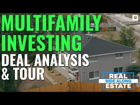 Multifamily Real Estate Investing Deal Analysis & Tour | Real Estate Ride Along