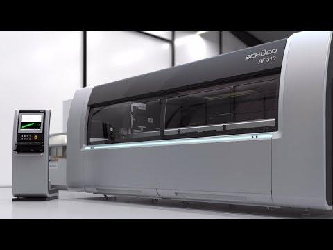Schüco Maschine AF 310 - Animation