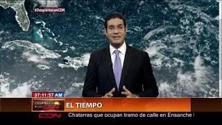 Vaguada continuará generando aguaceros en RD; se mantienen las alertas