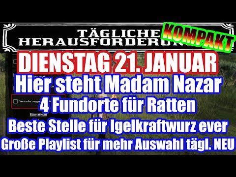 Dienstag 21. Januar Täglichen Herausforderung Dailys Nazar Red Dead Redemption 2 Online Deutsch