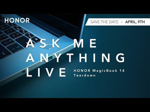 Join the HONOR Magicbook 14   Live AMA   Teardown