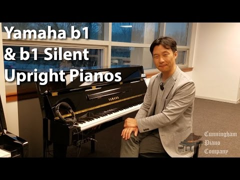 Yamaha b1 and b1 Silent Upright Pianos