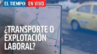 En vivo: Plataformas digitales ¿Transporte o explotación laboral