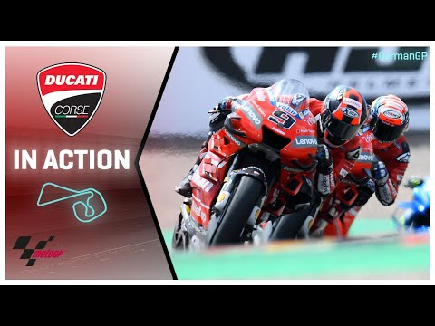 Ducati in action: HJC Helmets Motorrad Grand Prix Deutschland