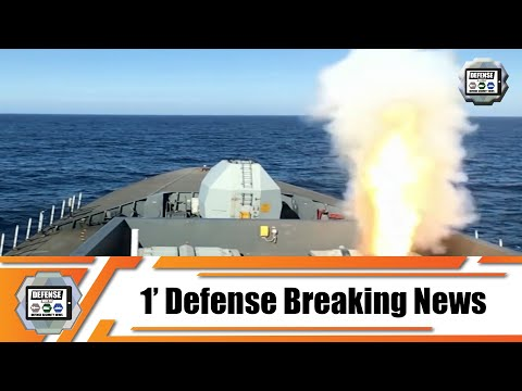 Type 45 destroyer HMS Dragon successfully fires Sea Viper missile