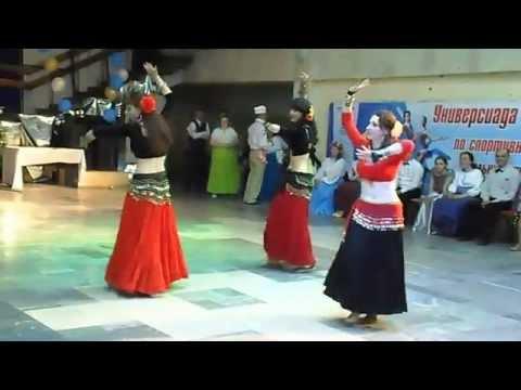 Трайбл фьюжн. Цыганский трайбл. Томск 2015. RAADY tribal band