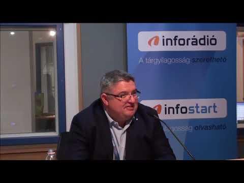 InfoRádió - Aréna - Vida József - 1. rész - 2019.03.19.