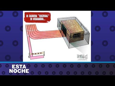 Caricatura de PxMolina: La carrera electoral en Nicaragua