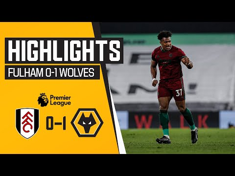 ADAMA WINS IT IN STOPPAGE TIME!   Fulham 0-1 Wolves   Highlights